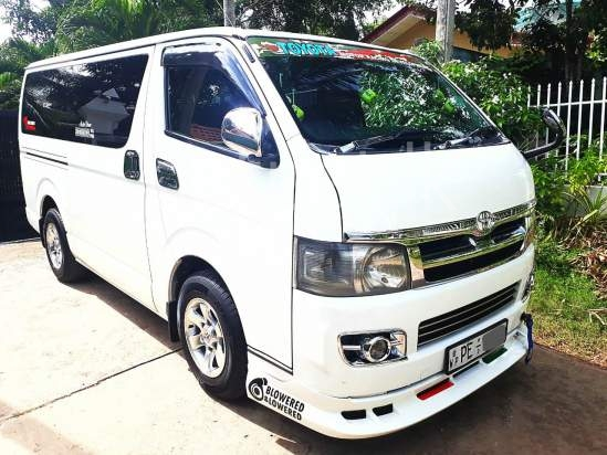 Buy and sell new and used Toyota Kdh-200 vans in Sri Lanka